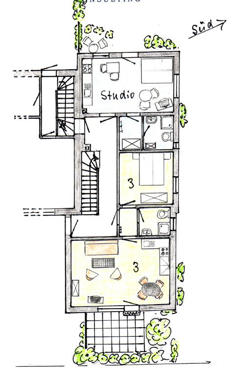 Zimmer Gastgeber Haus Gallileo