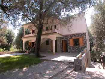 Ferienwohnung Villa Cecilia, 4 Fewos in einer Villa an der Cilento Küs
