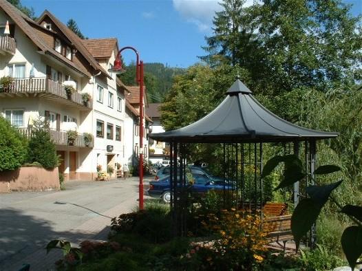 Baiersbronn-Schönmünzach in der Region Schwarzwald