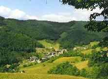 Oberharmersbach in der Region Schwarzwald