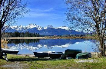 Lechbruck am See in der Region Allgäu