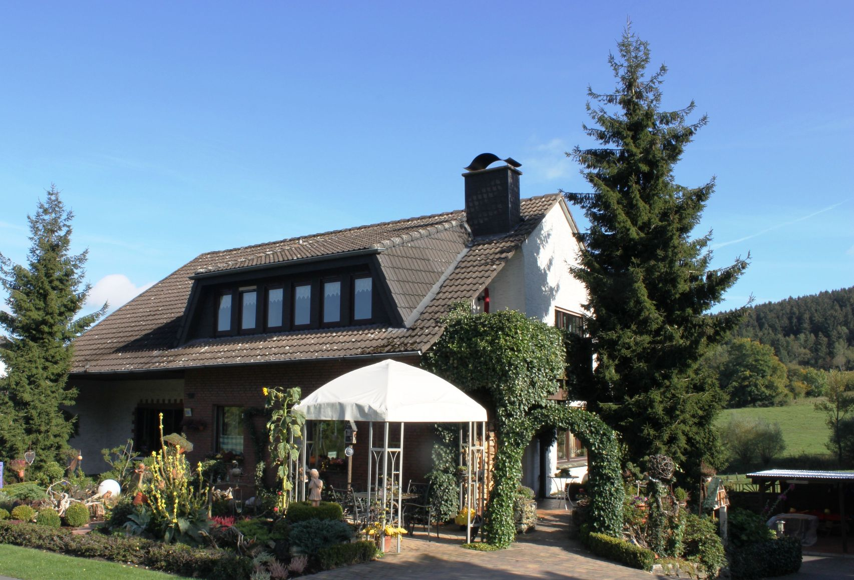 Ferienwohnung Haus Heidegarten