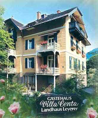 Gaestezimmer Villa Centa, Hotel Garni a.d.Klinik Hochstaufen