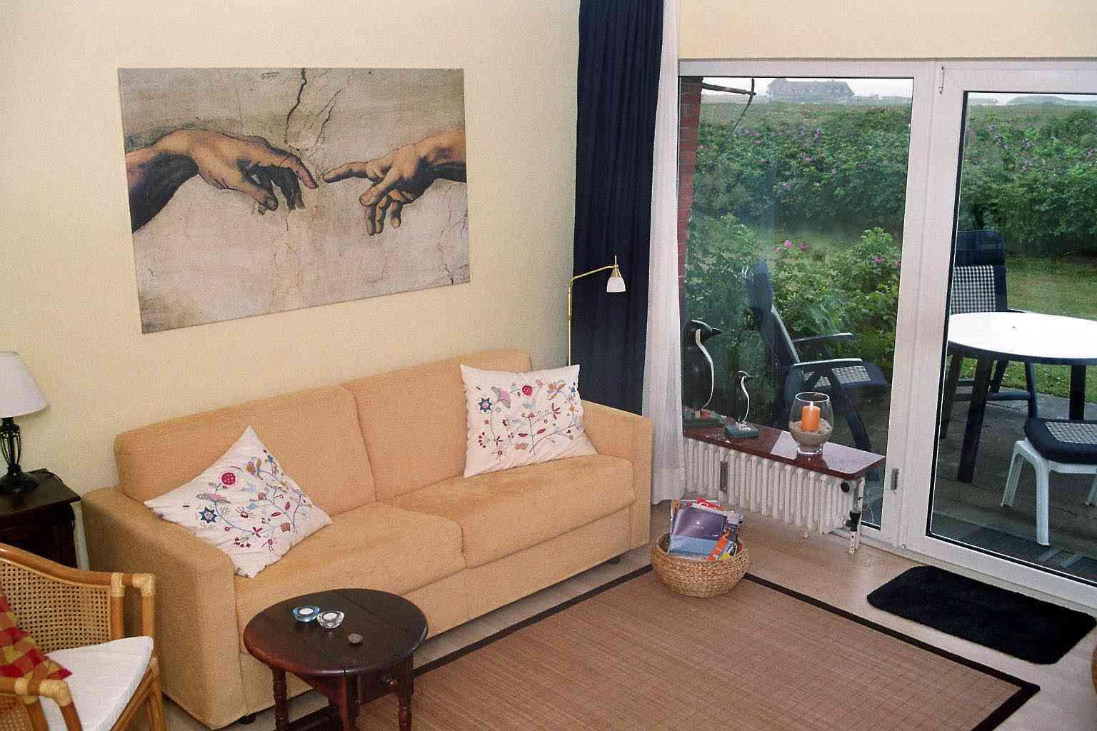 Zimmer Gastgeber Kampen Meerblick im Haus Kampbarg